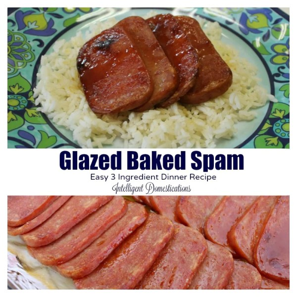 Glazed Baked Spam recipe