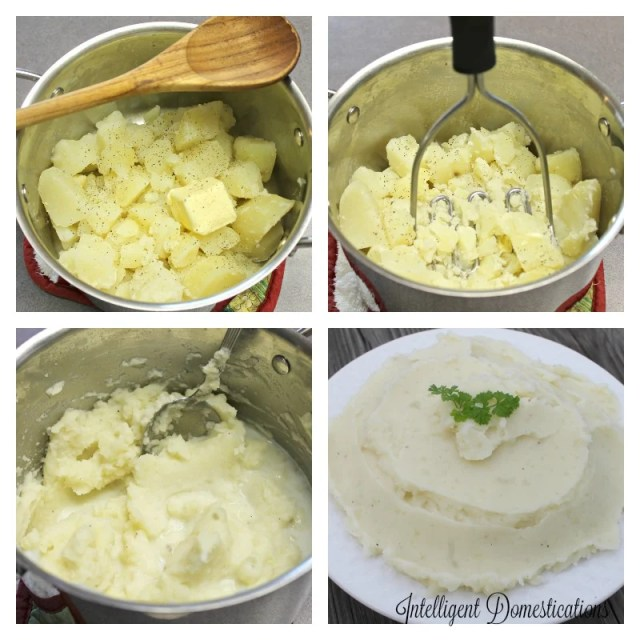 Made from scratch Mashed Potatoes recipe