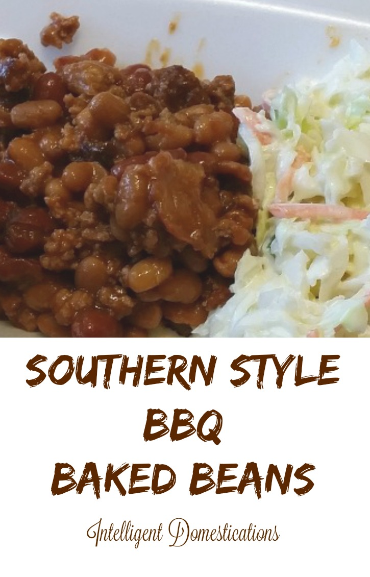 Southern Style BBQ Baked Beans recipe is super scrumptious and often requested by friends and family. This recipe has been in our family for many years