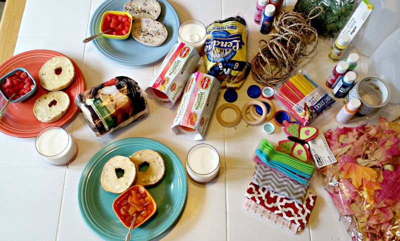 i-scattered-the-crafting-supplies-on-the-opposite-end-of-the-table-from-where-the-children-would-enjoy-thier-breakfast-so-they-could-be-thinking-aobut-their-projects-while-they-ate