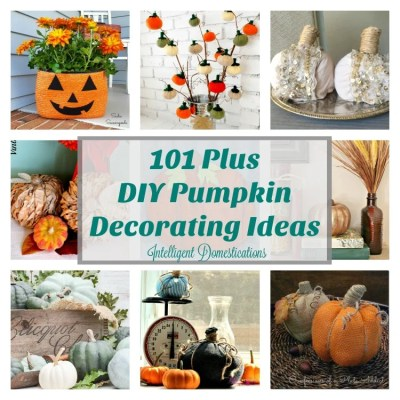 101+  DIY Pumpkin Decorating Ideas