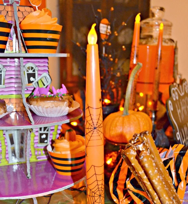 not-so-spooky-halloween-party-taper-candles-supplies-by-oriental-trading-party-by-intelligent-domestications