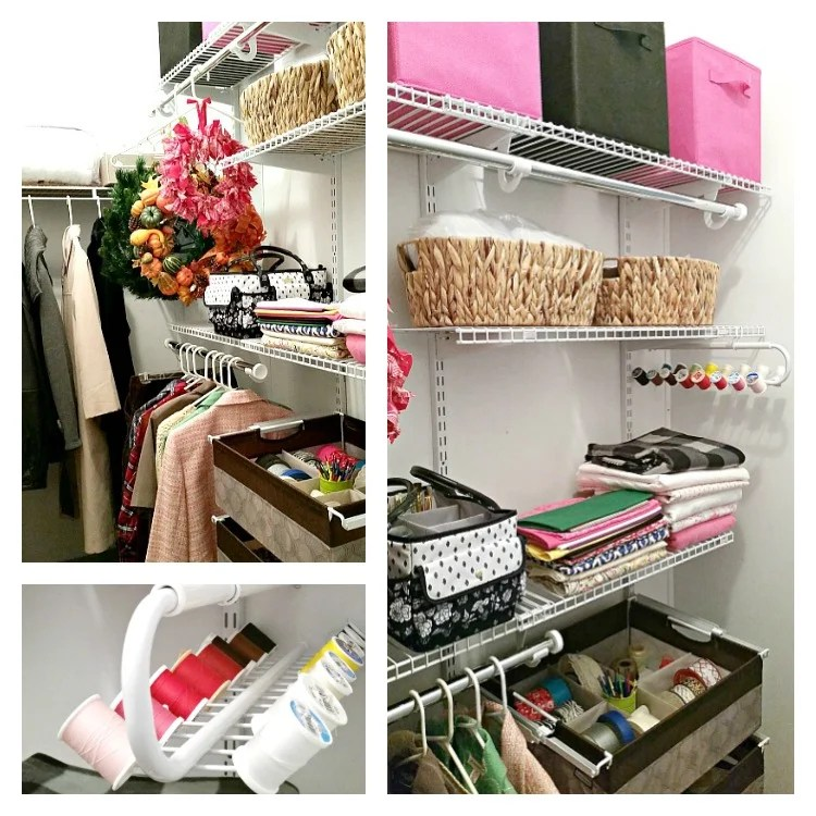 Our Closet Makeover Was Easy With The Rubbermaid