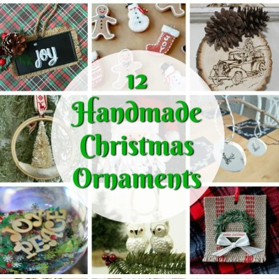 12 Handmade Christmas Ornaments