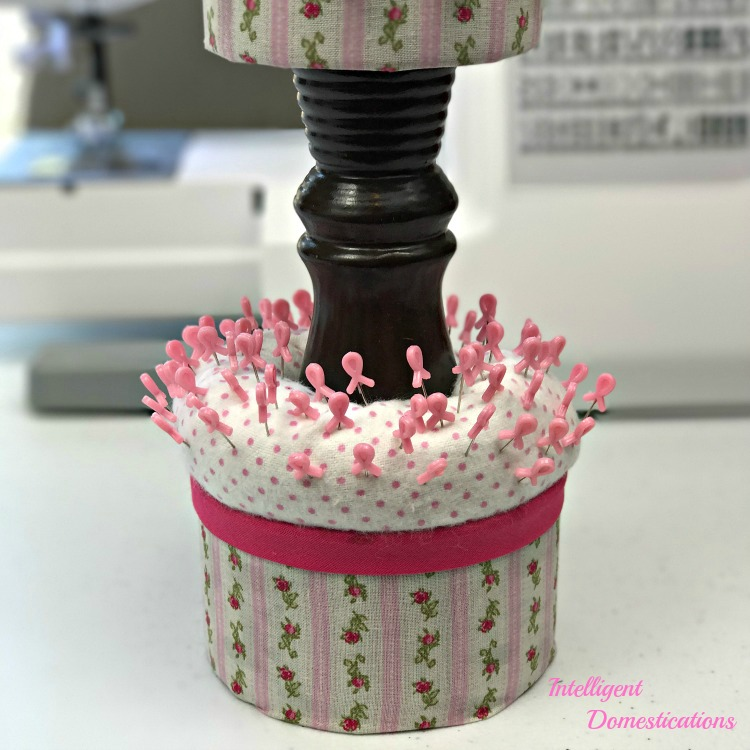 How To Make A Two Tier Pin Cushion at intelligentdomestications.com