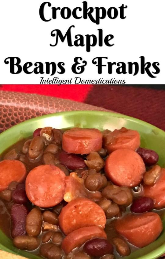 Crockpot Maple Beans & Franks