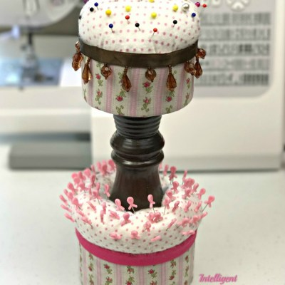 How To Make A Two Tier Pin Cushion