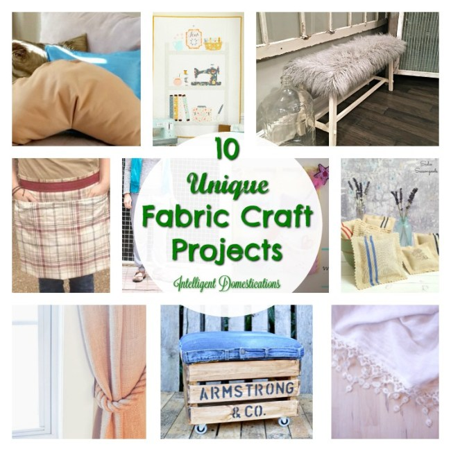10 Unique Fabric Projects