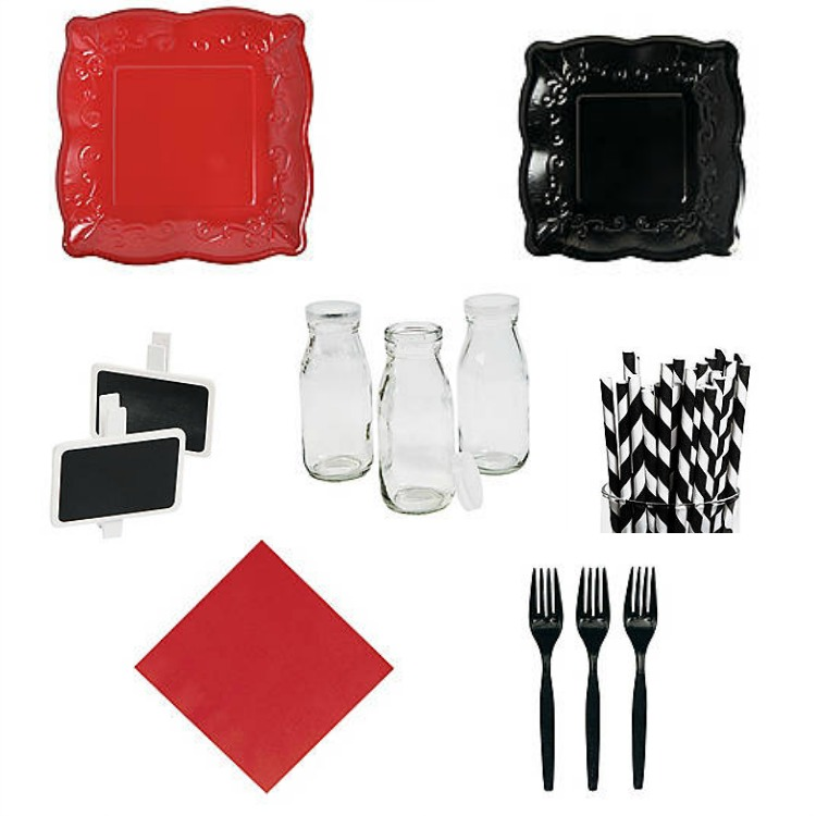 Style your WWE party by shopping at Oriental Trading for all your table decor and serveware