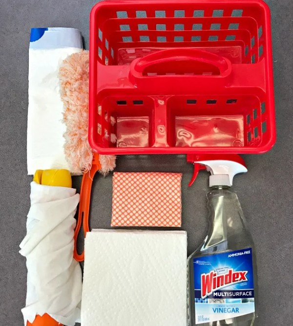 How To Set Up A Speed Cleaning KIt