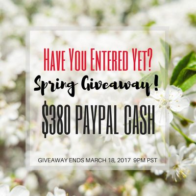 $380 Paypal Cash Giveaway
