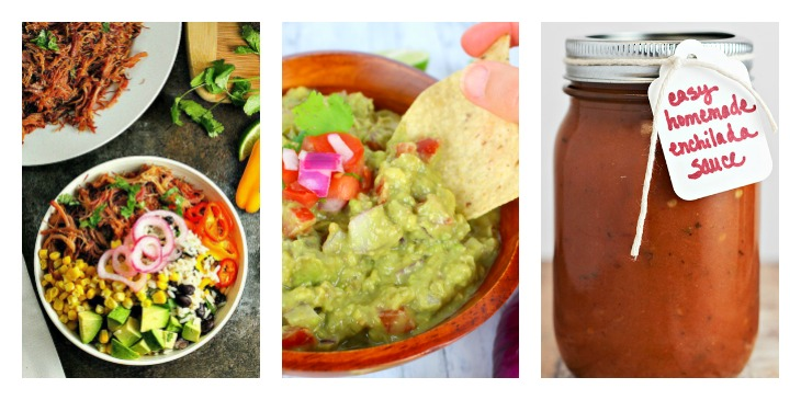 13 Easy Mexican recipes you can cook at home. Cinco de Mayo recipes. Mexican weeknight meal ideas