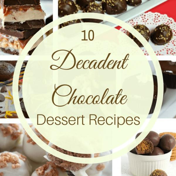 10 Decadent Chocolate Dessert Recipes. Chocolate Dessert Recipe ideas to make at home