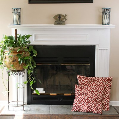 Our Fireplace Makeover