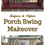 Porch Swing Makeover Intelligent Domestications
