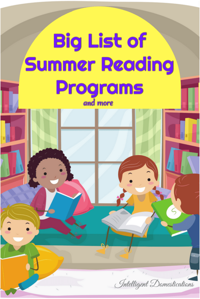 Big List of Summer Reading Programs Across the U.S. Summer reading programs for children of all ages. Summer reading programs and more resources including recommended book lists and online read aloud free sites