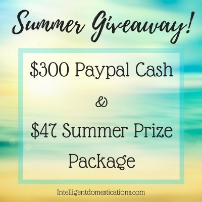 $300 Paypal Cash Summer Giveaway