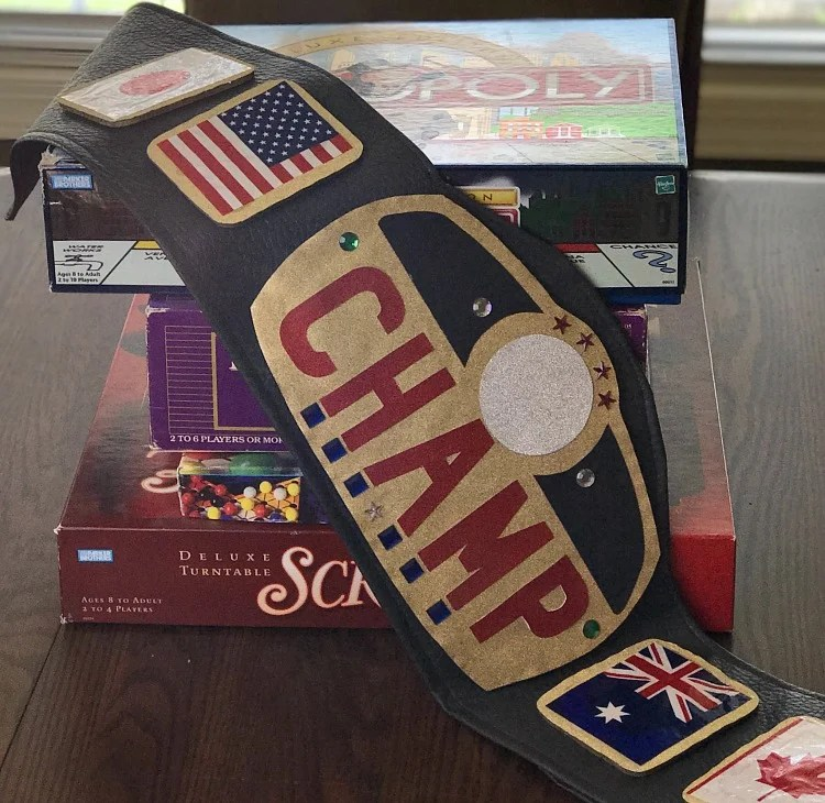 photo about Printable Wrestling Belt Template called Do-it-yourself Genuine Wanting Championship Belt - Sensible
