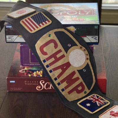 DIY Authentic Looking Championship Belt