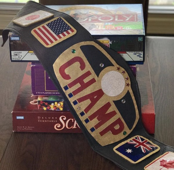 diy authentic looking championship belt intelligent domestications