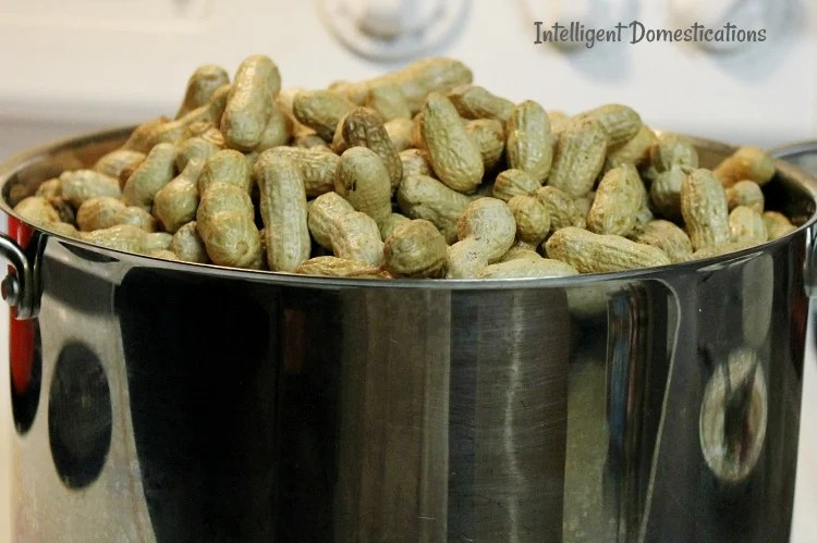 how to make boiled peanuts at home