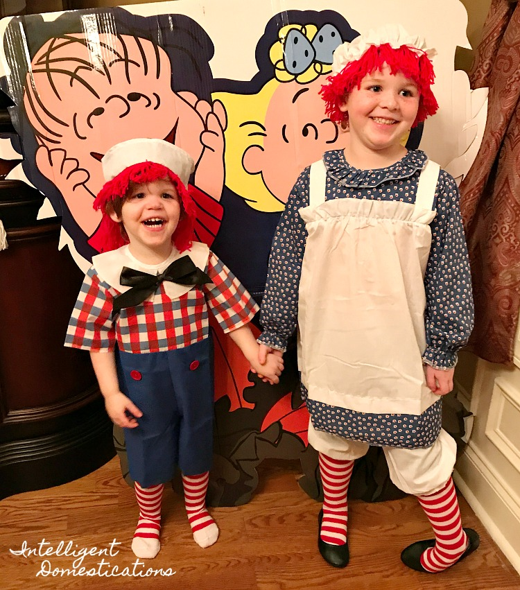 Where to find toddler size Raggedy Ann and Andy Costumes. Raggedy Ann and Andy Halloween  sc 1 st  Intelligent Domestications & Raggedy Ann and Andy Costumes for Kids | Intelligent Domestications