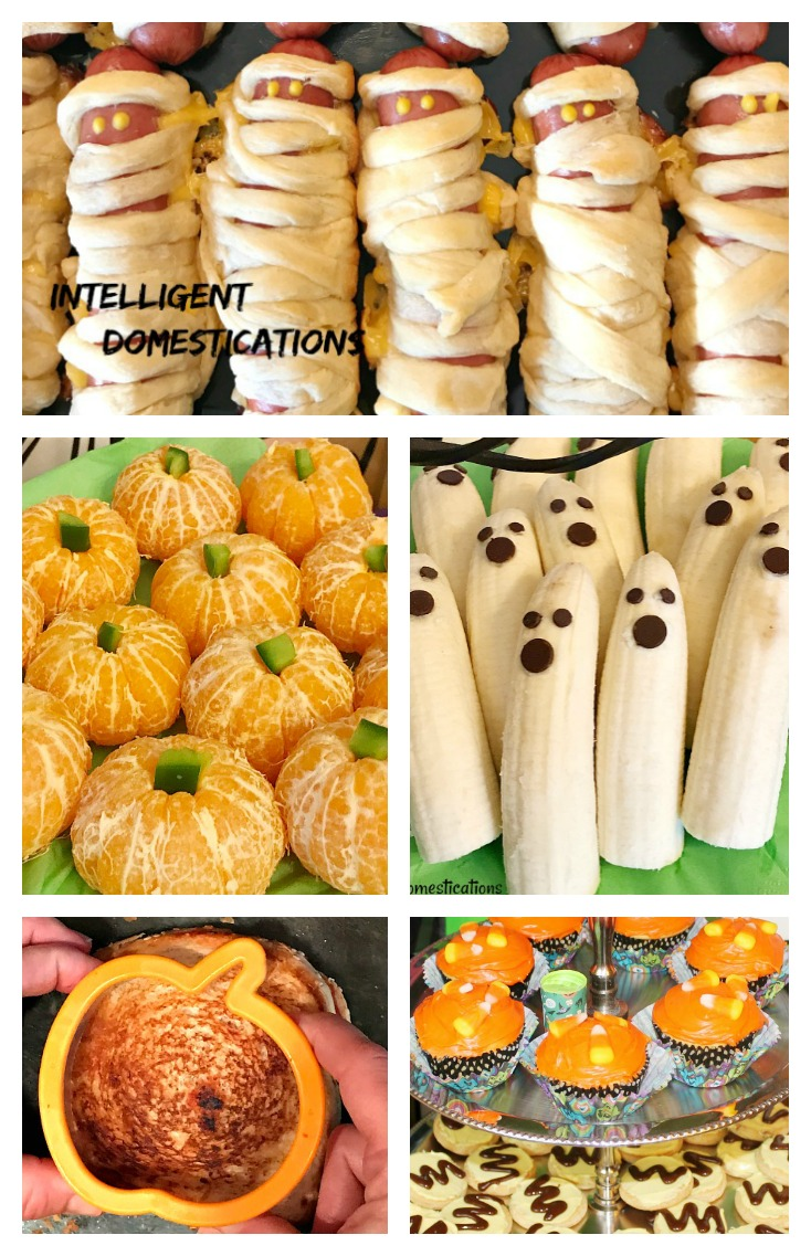 Seven Super Easy Halloween Party Food Ideas. Easy Halloween Party Food Ideas. Halloween party food. Halloween.