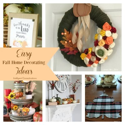 Easy Fall Home Decorating Ideas Merry Monday #177