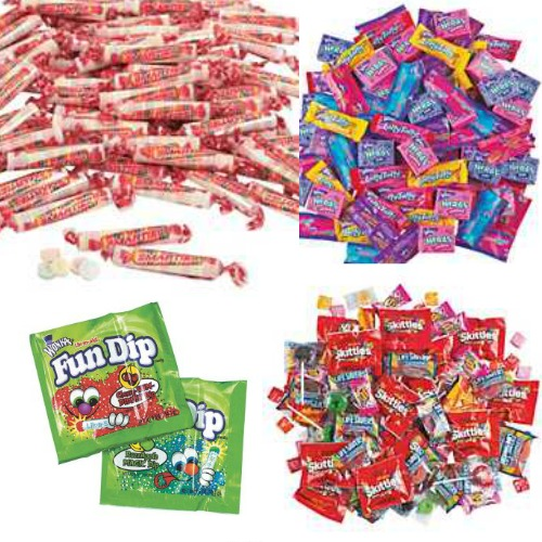 Where to buy bulk candy for Halloween or parades