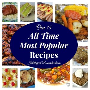 Our 15 Most Popular Recipes on the blog as of December 2017. Most Popular Recipes.