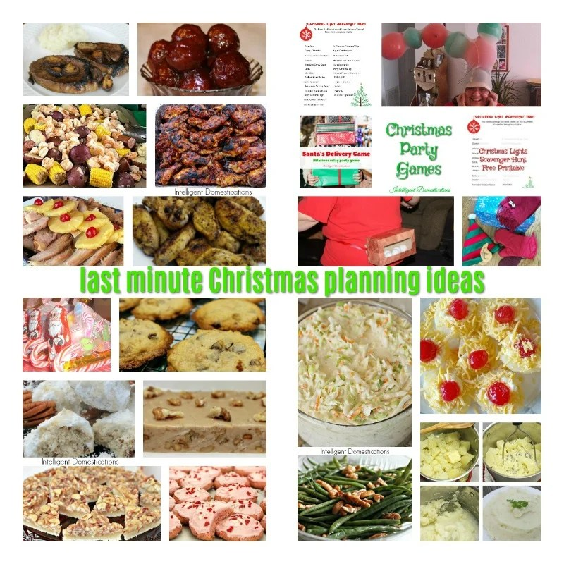 Last Minute Christmas Party Recipes & Game Ideas | Intelligent ...