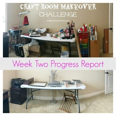 Craft Room Makeover Week Two