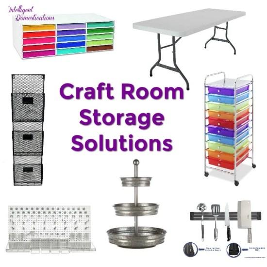 Craft Room Storage Solutions. Craft Room Storage Ideas. Craft Room Organization Ideas