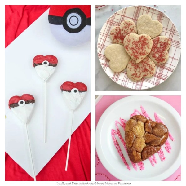Heart Shaped Food Ideas for Valentine's Day. Merry Monday Link Up Party Features