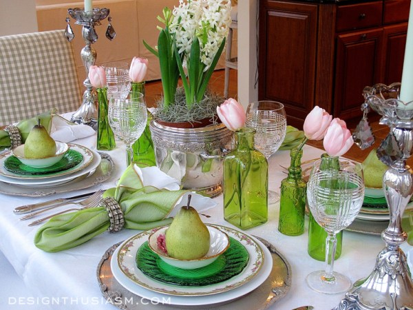 Elegant St. Patrick's Day Table Decor