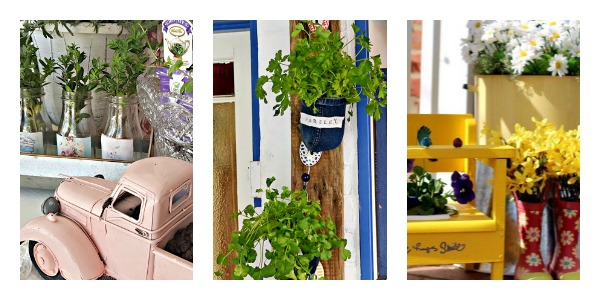 7 Unique DIY Planters. DIY Planters. 7 Creative DIY Planters to make #merrymondayfeatures #DIY #diyplanters