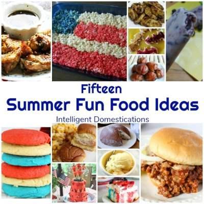 Summer Fun Food Ideas (Merry Monday 206)