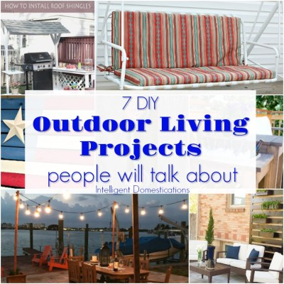 DIY Outdoor Living Projects People Will Talk About (Merry Monday 205)