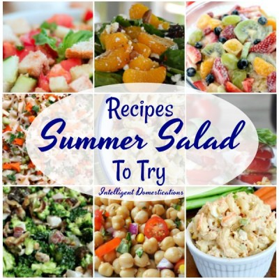 Summer Salad Recipes To Try (Merry Monday Link Up #204