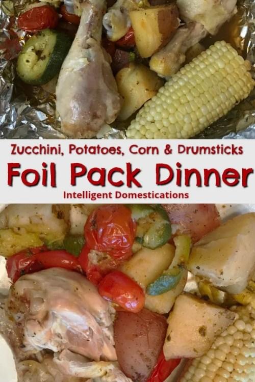 Foil Pack dinner ideas. How to cook a foil pack dinner.#foilpackdinner