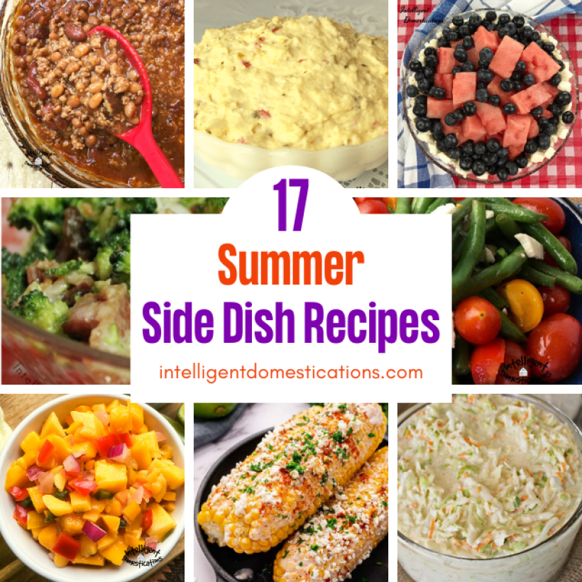 a collection of summer side dish recipes
