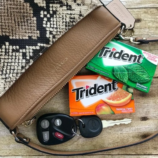 Trident Sugar Free Gum is on the candy Aisle at Walmart #TridentAtWalmart