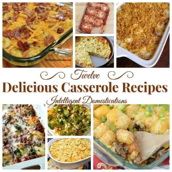 12 Delicious Casserole Recipes