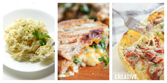 Easy recipes with 7 ingredients or less.