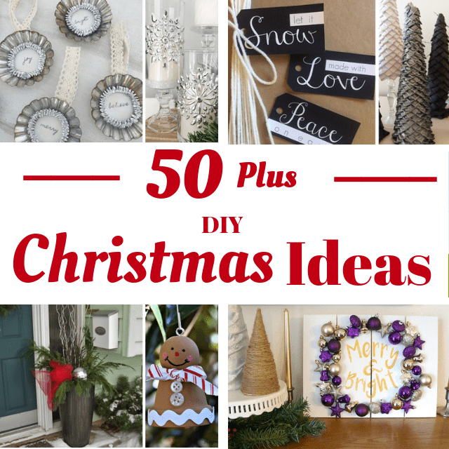 50 DIY Christmas Ideas. Feature Image. 12 Days 2018 Intro post 50 Plus DIY Christmas Ideas