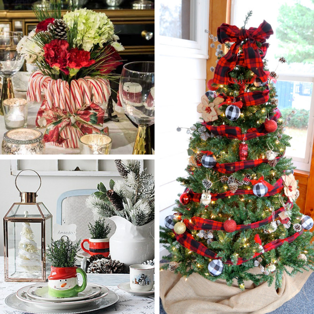 Pretty Red 50 Plus DIY Christmas Ideas