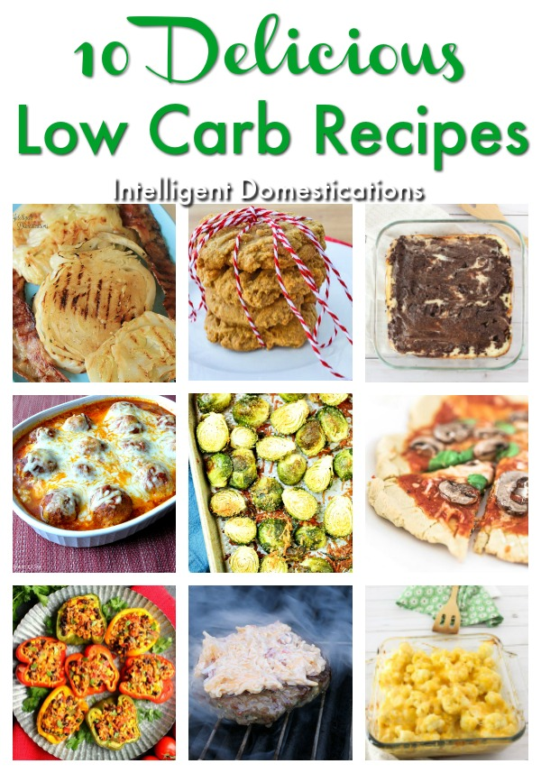 10 Delicious Low Carb Recipes to try right now. Save these Low Carb recipes because you will want to make them more than once. #lowcarb #lowcarbrecipes