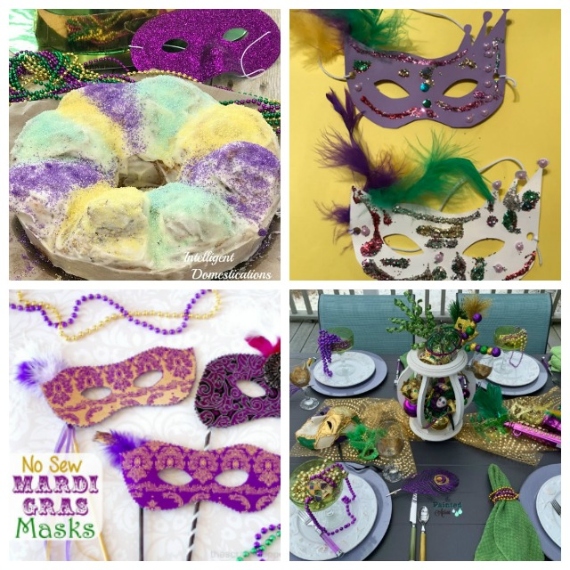 Family Friendly Mardi Gras Celebration Ideas. #mardigras #fattuesday