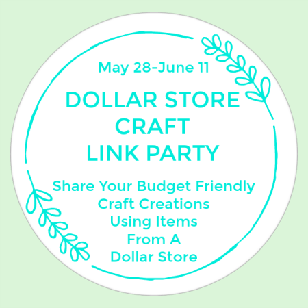 Dollar Store Craft Link Party Summer 2019 #dollarstorecraft