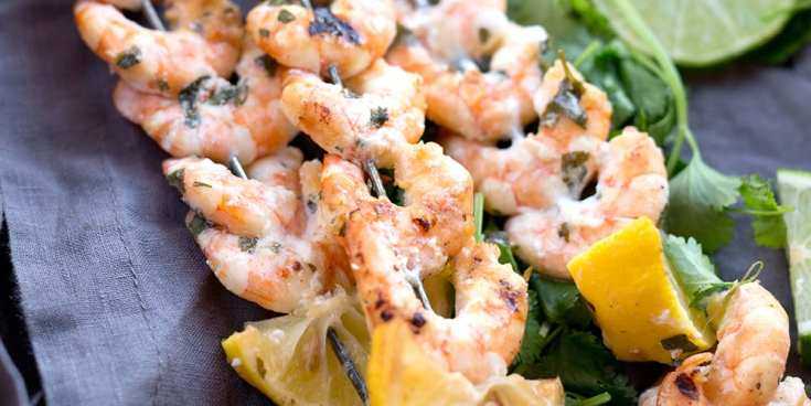 Recipe: Citrus Marinated Shrimp Skewers for Grilling